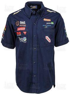 Camisa Racing Team Shirts, Boys T Shirts, Casual Shirts, Casual Outfits, Men Casual, Camisa Formula 1, Camisa F1, Corporate Shirts, Combat Shirt