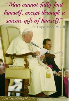 The Story of Our Meeting With St. John Paul II For the Blessing of Our Marriage