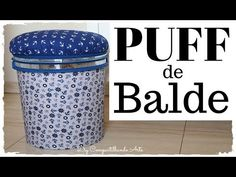 Awesome way to recycle plastic bottle Plastic Bottle Crafts, Recycle Plastic Bottles, Crafts To Make And Sell, Diy And Crafts, Diy Puffs, Ikea Bed, Ways To Recycle, Creative Crafts, Decor Crafts