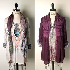 Bohemian Outfit Ideas: Layered Looks by Johnny Was Clothing
