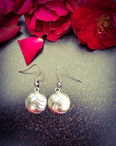 Check out this item in my Etsy shop https://www.etsy.com/listing/385335076/volleyball-earrings