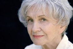On Thursday,Canadian author Alice Munroe won the 2013 Nobel Prize for Literature. Only the woman in the award's history to win, Munro has written 13 phenomenal collections of short stories. If you haven't read Munro before, now's not the time… Short Grey Hair, Short Hair Styles, Gray Hair, Metro Montreal, Alice Munro, Nobel Prize In Literature, Writers And Poets, Writers Write, Aging Gracefully