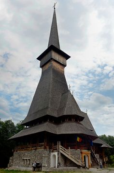 The Wooden Church of Sapanta-Peri Monastery ~ Romania