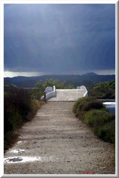 El Pont de Sa Gola. S' Albufera d' Es Grau, llacuna de Sa Gola. Menorca