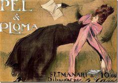 Ramon Casas i Carbó  Pèl & Ploma, 1899