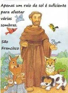 São Francisco de Assis Oração De São Francisco, São Miguel, Imagens De São  Francisco 73ad57be32