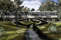 Casa del Puente : Bridge House, Argentina | Amancio Williams