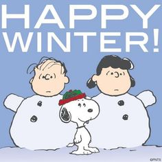 Winter officially begins today.