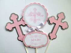 Baptism Christening First Communion by SweetLeilaniCreation, $11.00
