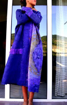 Nuno felt dress by Ia Gulisashvili.