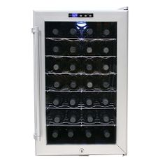 Perfect gift for a lover of wine. This elegant fridge will ensure they are not whining about your gift! (Sorry.)