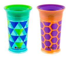 9oz Cup 2 Pack | Sassy Developmental Toys