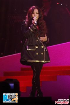 Taiwanese singer A-Mei performs at the Anita Mui 10th Anniversary concert in Hong Kong, China, December 30, 2013
