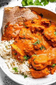 Chicken Tiki Masala, Easy Chicken Tikka Masala, Chicken Tandoori Masala, Indian Food Recipes, Healthy Recipes, Indian Foods, Top Recipes, Ketogenic Recipes, Healthy Food
