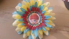 Daisy flower clip