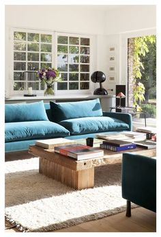Décoration Sarah Lavoine : le canapé donne le ton