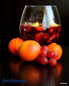 Moje Małe Czarowanie: Napój karnawałowy z owocami z Hiszpanii