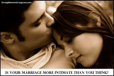 Women will often say that they want more intimacy in their marriage. If you've had feelings like this, I want to give you something to think about. Lack Of Intimacy, Things To Think About, Things I Want, The Better Man Project, Strong Love, That One Friend, True Feelings, Love Can, Couples In Love