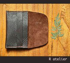 $22   Minimalist Business / Credit Card Slim Leather Wallet #minimalistwallet #slimwallet #leatherwallet