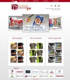 Maqueta de Sitio Web para FMS