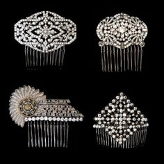 Hair Combs of the 1920's.