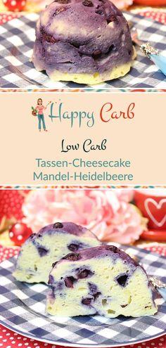 Tassen-Cheesecake Mandel-Heidelbeere Cupcake Cheesecake Almond Blueberry Cupcake Cheesecake Al Low Carb Cheesecake, Cheesecake Cupcakes, Easy Cheesecake Recipes, Blueberry Cheesecake, Low Carb Dinner Recipes, Low Carb Desserts, Healthy Dessert Recipes, Diet Recipes, Sweets Recipes