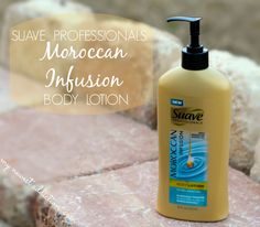 Get Luscious, Radiant Skin With Suave Professionals® Moroccan Infusion Body Lotion!  Review and #giveaway #bodylotion #suavebeauty via @Laura Gallaway @Suave Beauty