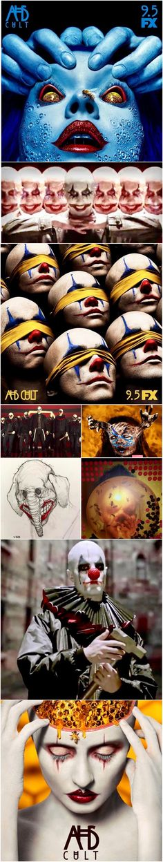 NEW | Join the Cult! Freakiest AHS Cult Images to date. Premieres September 5th on FX. Follow rickysturn/american-horror-story