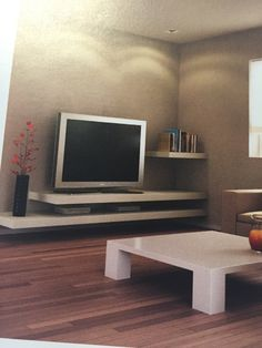 M s de 1000 ideas sobre meuble tv suspendu en pinterest salones interieur - Meuble tv moderne suspendu ...