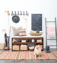 7 originálních předsíní | Tady Je Moje - Netradiční magazín o bydlení