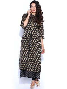 It is time to Kurti in bright, vibrant colours and look shiny and blingy as the festive season has already kicked in and Diwali is also round the corner.