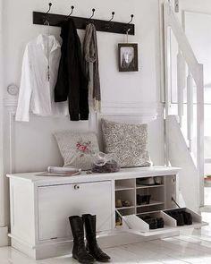 Virlova Interiorismo: [Deco] 6 elementos básicos para organizar tu recibidor