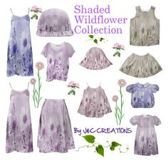 """Shaded Wildflowers"" by jnccreations ❤ liked on Polyvore"