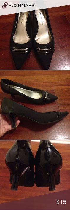 """Anne Klein iflex pumps- 8 Beautiful Anne Klein black heels. Iflex makes them super comfortable and they run true to size. Excellent used condition. No major signs of wear. Size 8 and 2"""" heel. Anne Klein Shoes Heels"""