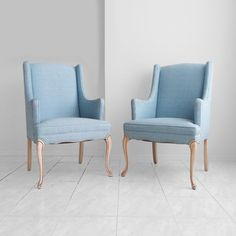 20% SALE 2 mid century FRENCH provincial baby blue arm chairs by misovintage on Etsy https://www.etsy.com/listing/222782253/20-sale-2-mid-century-french-provincial