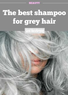 The best shampoo for grey hair. Hairdressers say this is a good idea, firstly be. The best shampoo Grey Hair Care, Grey Curly Hair, Short Grey Hair, Silver Grey Hair, Blonde Hair, Thin Hair, Dye Hair Gray, Dyed Hair, Blue Grey Hair