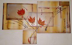 quadri moderni olio su tela dipinti a mano immagini fiori dreda - immagini quadri moderni fiori
