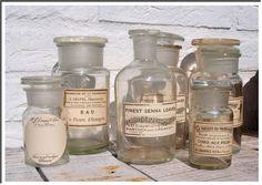 vintage bottle collection