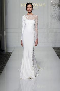 Stunning Long Sleeve Wedding Dress Veda from Pronovias
