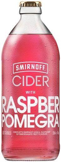 Smirnoff Raspberry and Pomegranate