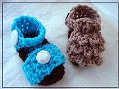 Ruffled Top and Strap Sandals - free crochet patterns!