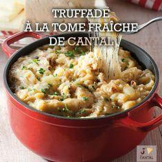 #Recette de truffade à la tome fraîche de #Cantal