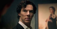 """[caption align=""""aligncenter"""" Benedict Cumberbatch as Sherlock in 'Sherlock'[/caption] Well this is a very satisfying thing indeed. Welcome to the new Sherlock trailer,. Sherlock Holmes, Sherlock Series 3, Sherlock Season, Sherlock Fandom, Watch Sherlock, Moriarty, Doctor Strange, Doctor Who"""