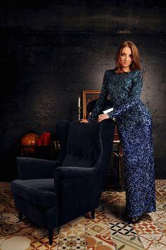 Darina   by valeriabliok long dress, studio