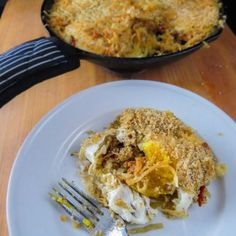 Elevate your next breakfast, brunch, or heck even the entire weekend of morning meals with this super simple and stunning recipe! These baked eggs that rest below a crunchy crust of cheese and breadcrumbs and on top a nest of sweet onions and sun dried. Nytimes Recipes, Thai Beef Salad, Gourmet Recipes, Healthy Recipes, Baked Eggs, Deep Dish, Morning Food, World Recipes, Frittata