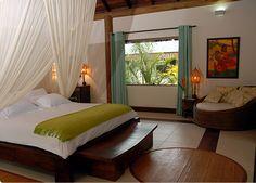 Kiaroa Eco-Luxury Resort, Península de Marau, Bahia - Brasil: Acomodações: Suites e Bangalôs - Bangalô Malindi