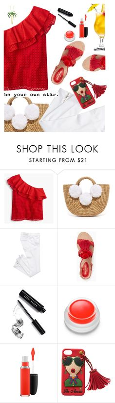 """""""Be Your Own Star"""" by juliehooper ❤ liked on Polyvore featuring J.Crew, JADEtribe, Kate Spade, Bobbi Brown Cosmetics, rms beauty, MAC Cosmetics and Allurez"""