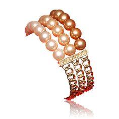 Aliyah Pearl Bileklik #oriflame       Şampanya rengi imitasyon incileriyle gösterişli bileklik, altın rengi zinciriyle zarif bir görünüm kazanıyor. Organze saklama kesesi ürüne dahildir. 0 *