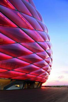 Allianz Arena by Herzog & de Meuron.
