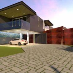 Projeto residencial aprox. 570m2. Manaus/AM